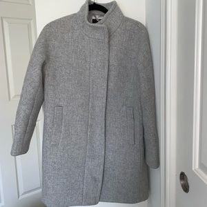 J. Crew Cocoon Coat Stadium Cloth Nello Gori 4P